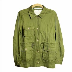 Evy's Tree mia in olive jacket